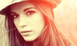 härlig sexig kvinna Fotografering för Bildbyråer