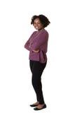 härlig ståendetonåring Royaltyfria Foton