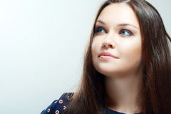Härlig tonårig flicka Royaltyfri Bild