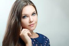 Härlig tonårig flicka Arkivbild