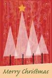 härlig vektor för juldesignillustration Royaltyfri Bild