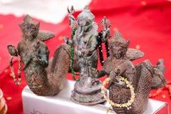 Härliga Buddhis hinduiska amuletter Royaltyfria Foton