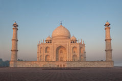 Taj Mahal, Agra, Indien Arkivfoto