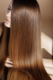 härligt hår Royaltyfria Bilder