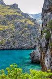 Härligt landskap i Mallorca Arkivfoton