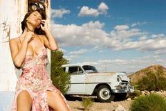 härligt modeflickabarn Royaltyfri Bild