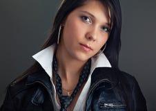 härligt sexigt kvinnabarn Fotografering för Bildbyråer
