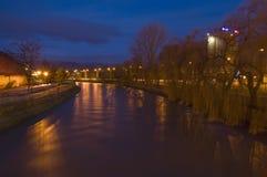 hronflod Arkivbild