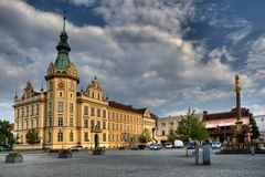 Hronov στην Τσεχία Στοκ εικόνες με δικαίωμα ελεύθερης χρήσης
