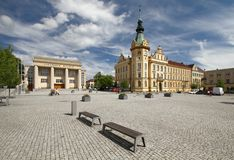 Hronov city Royalty Free Stock Images