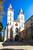 Hronsky Benadik, Slovakia. Church and monastery in Hronsky Benadik, Slovakia Stock Photos