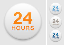 24 hrs icon Stock Image