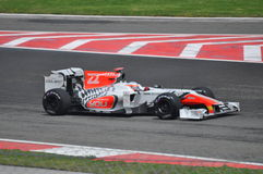 HRT F1 Team. Formula1, İstanbul Grand Prix 2011, HRT stock photography