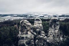 Hruba Skala στη Δημοκρατία της Τσεχίας στοκ εικόνες