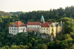 Hruba Skala Castle Royalty Free Stock Photo