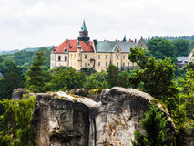 Hruba Skala castle Royalty Free Stock Image
