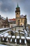 Hruba Skala castle Stock Photo