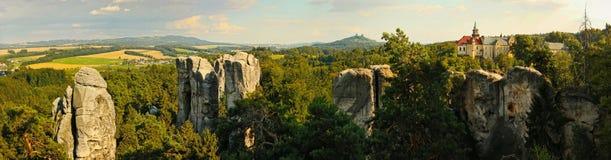 Hruba Skala/ Czech paradise Stock Photo