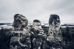 Hruba Skala i Tjeckien royaltyfri fotografi