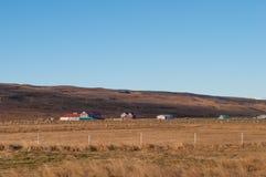 Hrutafjordur in Nord-Island Lizenzfreie Stockbilder