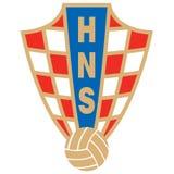 Hrvatski nogometni savez logo Stock Photography