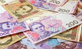 Hryvnia ucraniano del dinero La divisa nacional Fotos de archivo libres de regalías