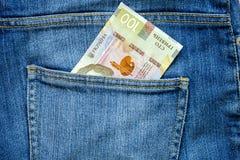 Hryvnia ukrainsk nationell valuta Fotografering för Bildbyråer