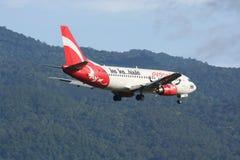 HS-AAN泰国亚洲航空波音737-300  图库摄影