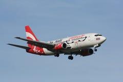 HS-AAN Boeing 737-300 de Air Asia tailandês Imagens de Stock