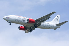 HS-AAP Boeing 737-300 of Thaiairasia Royalty Free Stock Images