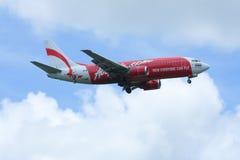 HS-AAQ Thaiairasia波音737-300  库存照片