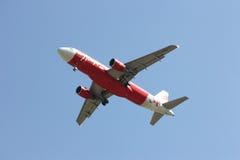 HS-ABA Airbus A320-200 de Thaiairasia Imagens de Stock