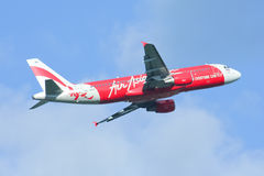 HS-ABA  Airbus A320-200 of Thaiairasia. Stock Photography