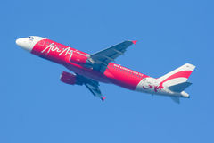 HS-ABB Airbus A320-200 of Thaiairasia. Royalty Free Stock Images