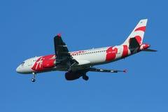 HS-ABC airbus A320-200 Thaiairasia Στοκ Εικόνες