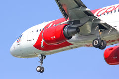 HS-ABC  Airbus A320-200 of Thaiairasia. Stock Image