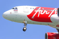 HS-ABC  Airbus A320-200 of Thaiairasia. Stock Photos