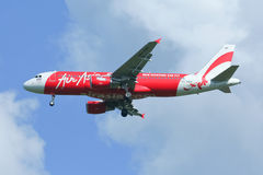 HS-ABD Airbus A320-200 of Thaiairasia. Royalty Free Stock Images