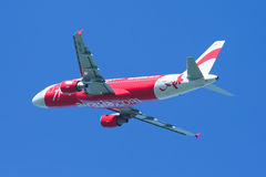 HS-ABF  Airbus A320-200 of Thaiairasia. Royalty Free Stock Photo