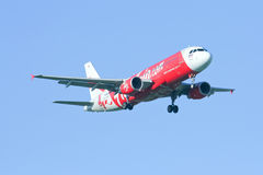 HS-ABG  Airbus A320-200 of Thaiairasia Royalty Free Stock Photography