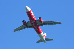 HS-ABG  Airbus A320-200 of Thaiairasia Stock Photography