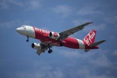 HS-ABM A320-200 de Air Asia tailandês Fotos de Stock