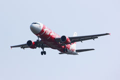 HS-ABP Airbus A320-200 of Thaiairasia. Stock Photos