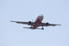 HS-ABR Airbus A320-200 de Thaiairasia Imagens de Stock Royalty Free
