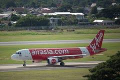 HS-ABS Airbus A320-200 de Thaiairasia Fotografia de Stock