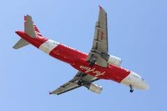 HS-ABZ Airbus A320-200 de Thaiairasia Fotografia de Stock Royalty Free