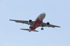 HS-ABZ Airbus A320-200 de Thaiairasia Imagens de Stock Royalty Free