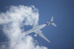 HS-THE Airbus A350-900 de Thaiairway TG105 Fotografia de Stock