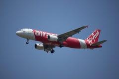 HS-BBB Airbus A320-200 de Air Asia tailandês Imagens de Stock Royalty Free