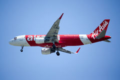 HS-BBD  Airbus A320-200 of Thaiairasia. Royalty Free Stock Images